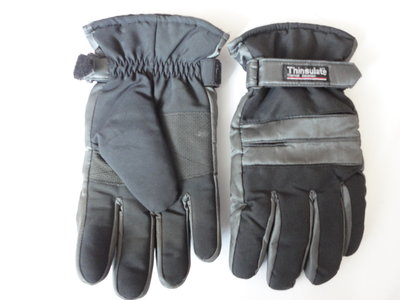 Перчатки мужские непромокаемые Thinsulate на среднюю руку - идеал