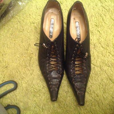 Кожанные туфли 36р