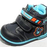 Демисезонные ботинки для мальчика 23,24р Каблук Томаса
