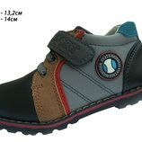 Демисезонные ботинки для мальчика в наличии 22,23 р.