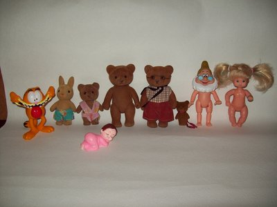 Мелкие игрушки разные 1
