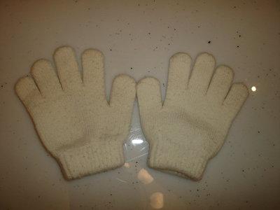 Белые перчатки на 5-7 лет