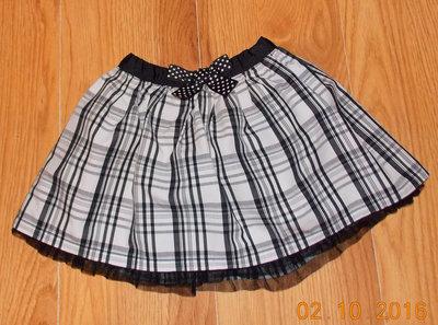 Гламурная фирменная юбка для девочки 18-24 месяцев, 86-92 см