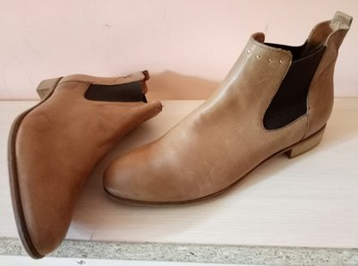 Ботинки деми кожа Creeks 41р -26 см новые сток