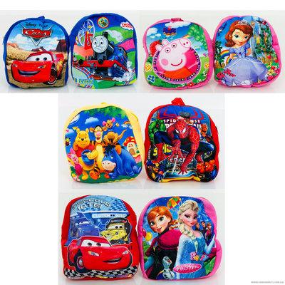 Плюшевый рюкзак детский. Выбор
