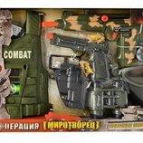 Игровой набор Миротворец 33480 броник, оружие, бинокль, маска