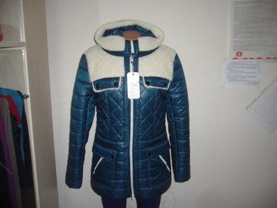 куртка женская зимняя стеганная украина новая в наличии 46-56 р