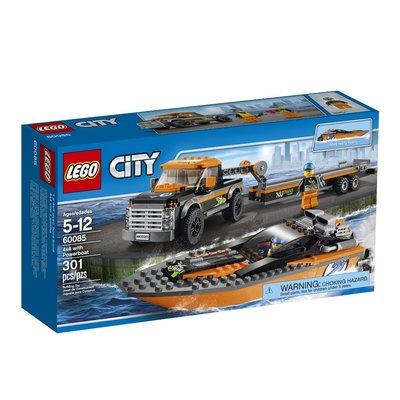 LEGO City Джип 4x4 с моторной лодкой Great Vehicles with Powerboat