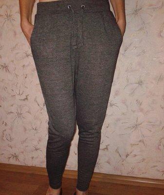 Трикотажные штаны с низкой мотней, размер Хс, наш 40-42