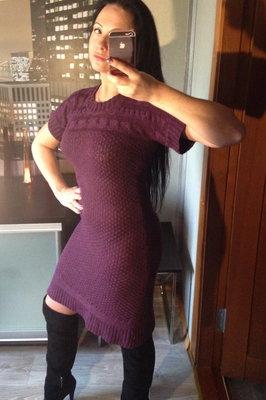 Платье туника вязанная,Gina Benotti