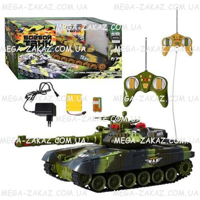 Радиоуправляемый танк Abrams танк на радиоуправлении 27см, 2 вида аккумулятор, звук свет