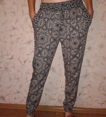 Вискозные штанишки с кармашками, размер 10-С, наш 44
