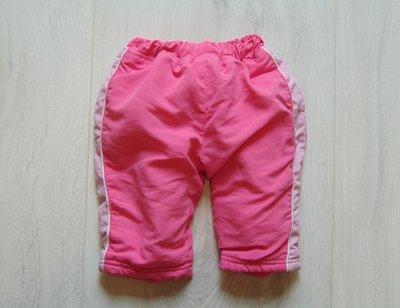 Тёплые спортивные штаники для маленькой модницы. Aardvark. Размер 6-9 месяцев. Состояние идеальное.