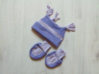 Новый флисовый комплект для новорожденного шапочка пинетки. Early Days. Размер one size