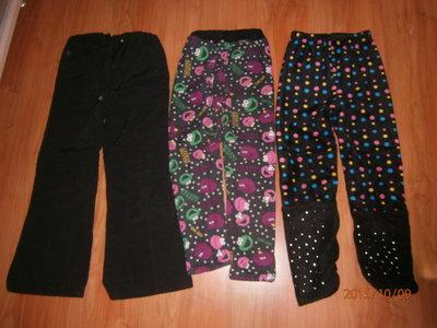 Наши утепленные штаны, лосины на рост 108-118см
