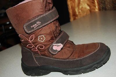 зимние ботинки superfit 35 размер