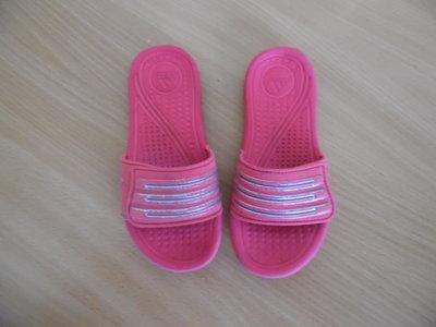 шлепки розовые 19 см стелька Adidas Адидас фирменные
