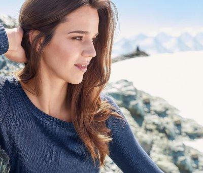 Глянцевый свитер 40р. Тсм Tchibo Германия