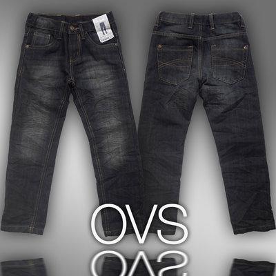 Модные джинсы для мальчиков 3-6 лет фирмы OVS Италия