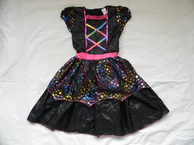 Карнавальное платье на 7-8 лет.