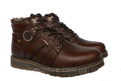 Мужские кожаные зимние ботинки Kristan Brown