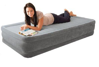 Надувная Односпальная Кровать INTEX 67766 99-191-33 См. Встроенный Электронасос 220W