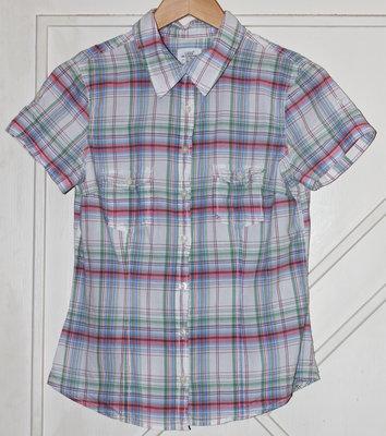 Рубашка в клетку H&M, р. 38.