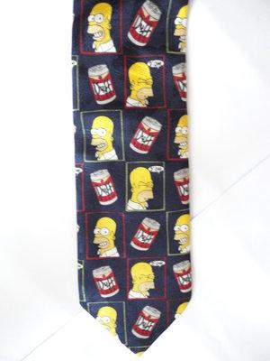 Галстук Симпсоны