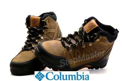 Ботинки зимние Columbia Nubuck Olive