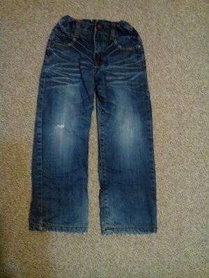 джинсы на флисе во двор длина 73