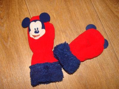 Варежки Disney 2-4 г, унисекс