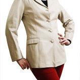 Стильный кожаный пиджак, Dilander, р. М