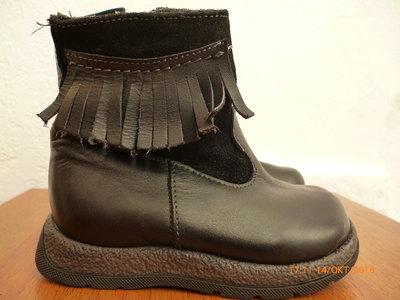 Сапожки ботинки кожа р. 21 стілка 14 см.