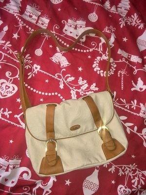 Молодежная сумка на длинной ручке