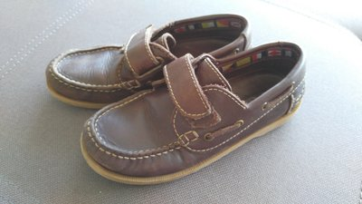 мокасины коричневые Boji, кожа, размер 32