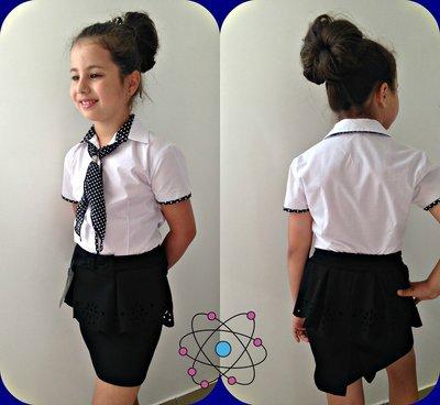 Блузка школьная р. 122-140