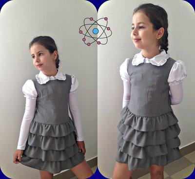 блуза и сарафан школьный р. 116-146