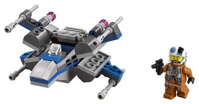 LEGO Star Wars Истребитель Сопротивления Resistance X-Wing FighterTM 75125