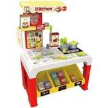Детская кухня 8725 с тестом для лепки и посудой