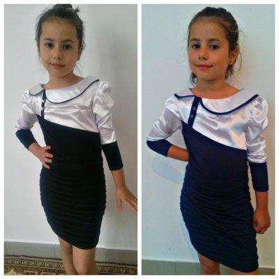 Платье 491 для школы р. 122-140