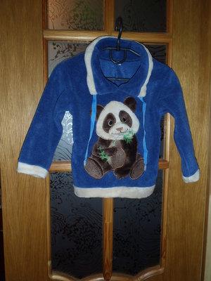 1,5-2 года,НОВЫЙ джемпер свитер Панда