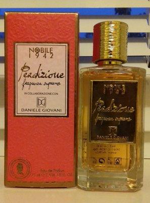 Nobile 1942 Perdizione, распив оригинальной парфюмерии