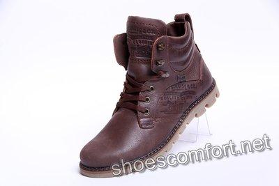 Продано: Качественные зимние кожаные ботинки Levi's Б 25-04