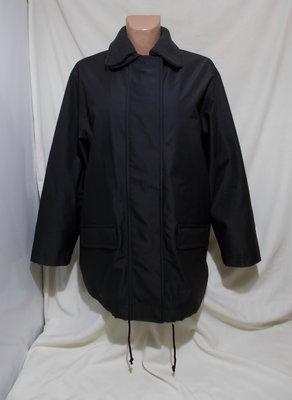 Куртка черная прорезиненная утепленная Люкс бренд SAND Copenhagen Дания 46-48р