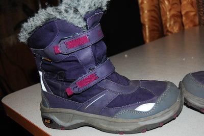 деми ботинки jack wolfskin 33 размер