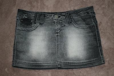 Юбка джинсовая, 34-36 размер