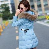 куртка женская Хит пуховик женский зимняя термо теплая пальто парка