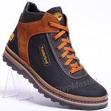 Ботинки кожаные зимние Timberland Winter
