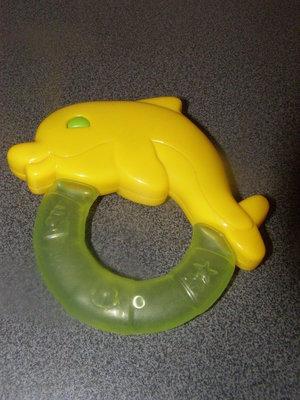 Игрушка погремушка грызунок прорезыватель дельфин