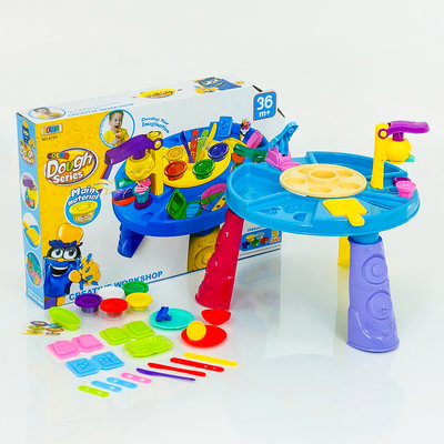 Детский набор для лепки, 34 дет, в кор. 45 66 10см., 8724